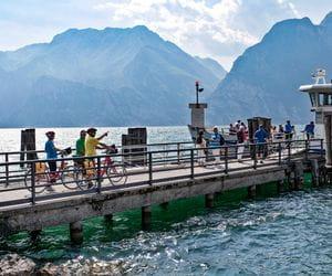 Pier at Lake Garda