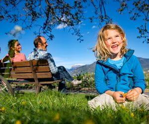 Radlerpause im schoenen Südtirol