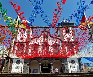Famous church Nossa Senhora do Monte in Funchal
