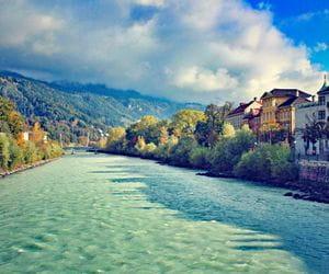 View over the river Inn in Innsbruck