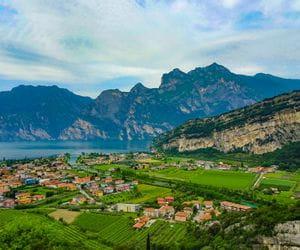 View of Lake Garda from Nago