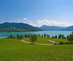 View over the Tegernsee