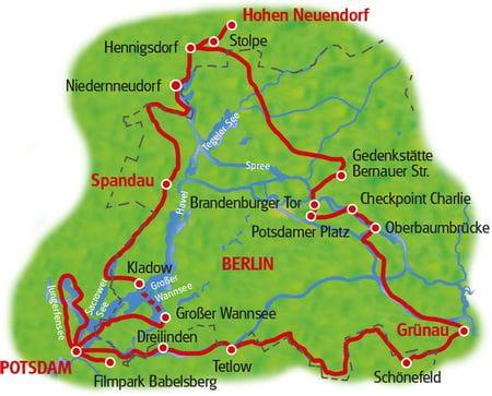 Berlin Wall Cycle Path