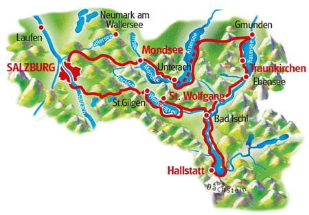 Map The Lakes Tour with Charm