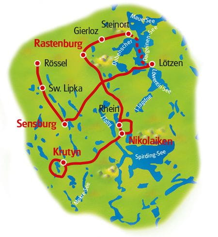 Map Masuria