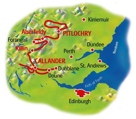 Map Scottland