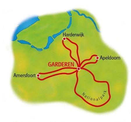 Map Ijsselmeer - based in one hotel