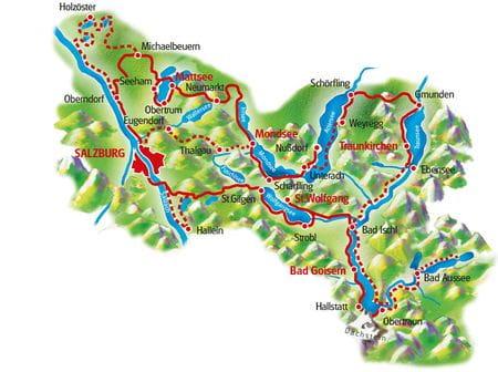 Map Ten Lakes & Sound of Music