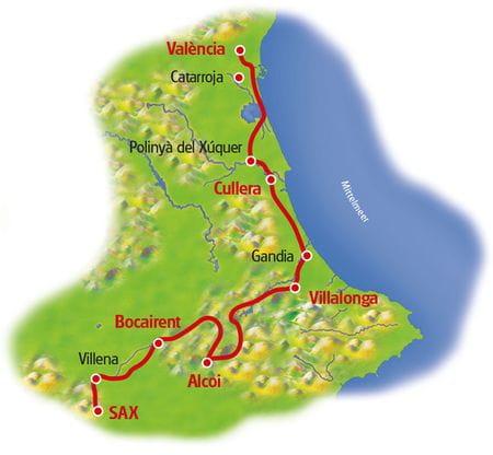 Map Alicante