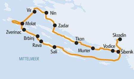 Karte Dalmatino, Carpe Diem, My Voyage, Kazimir
