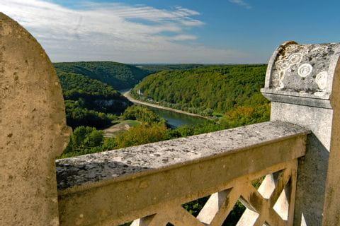 Blick von der Befreiungshalle auf die Donau