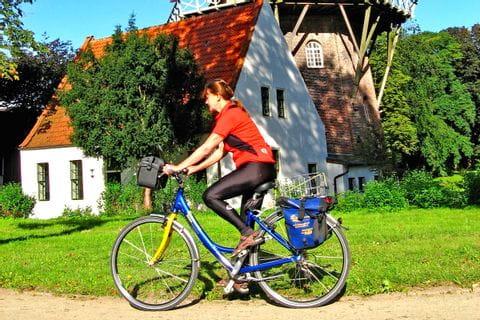 Radfahrer Ostfriesland Sternfahrt