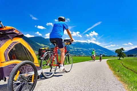 Radgenuss entlang dem Tauernradweg