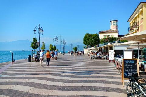 Strolling around at Lake Garda