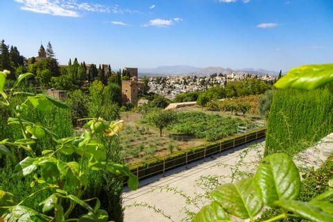 Alhambra Gartenanlage