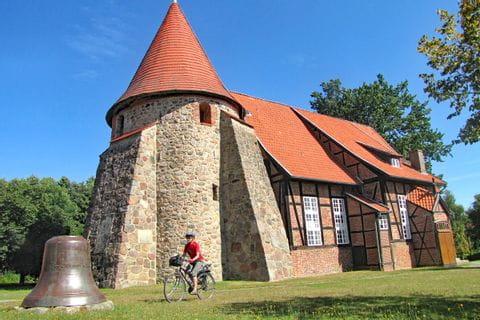 Alte Mühle am Rande des Radweges Lüneburger Heide Rundfahrt