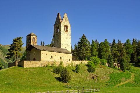 Kirche San Gian in Celerina