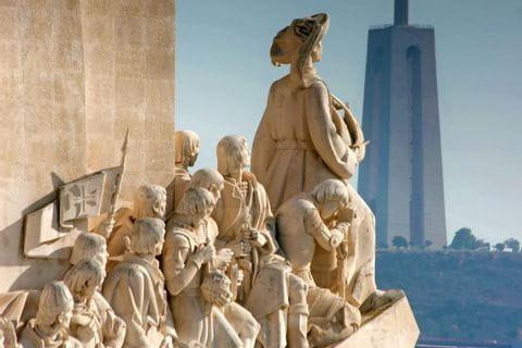 Das Entdeckerdenkmal in Lissabon