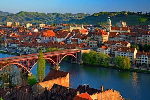 Blick auf Maribor