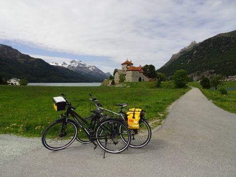 Little break along the Inn cycle path