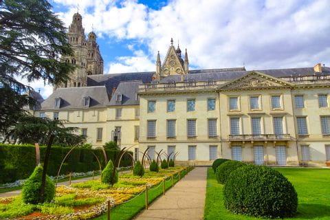 Castle in Tours along the Loire