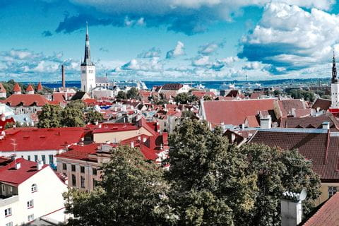 Oldtown in Tallinn