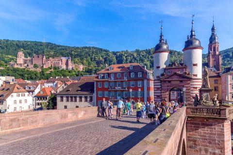 Stadttor in Heidelberg