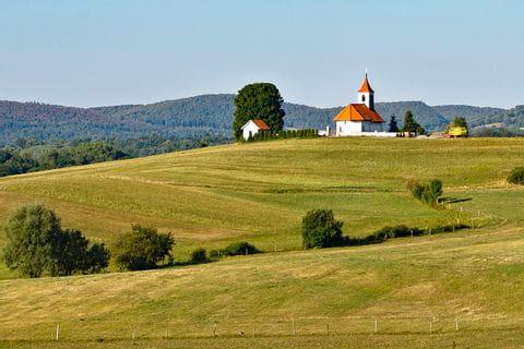 Panorama of Postojna