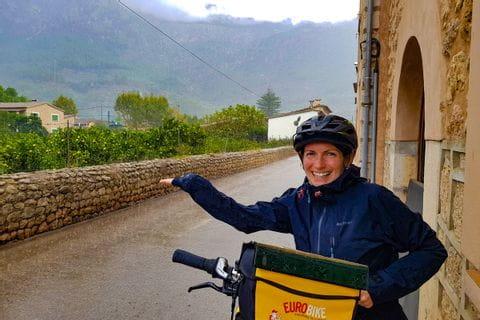 Regenwetter am Weg nach Port Sóller