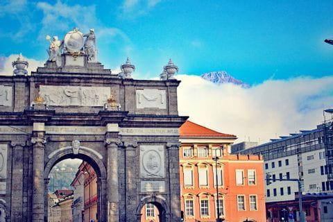 Triumphpforte in Innsbruck