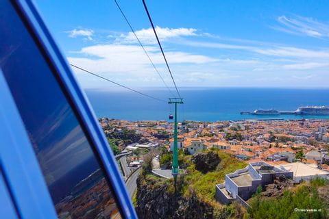 Gondelfahrt über Funchal