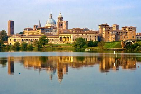 Blick auf Mantua