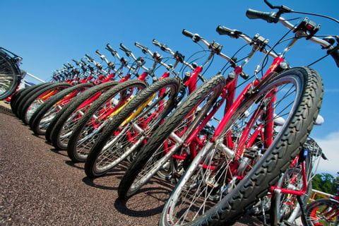 Eurobike Leihräder in der Radstation Schärding