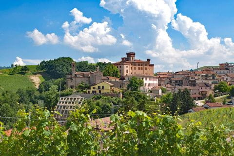 World-famous wine village Barolo