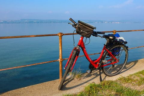 Fahrrad am Bodensee
