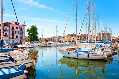 Harbour in Grado