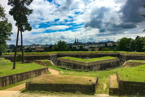 Ausblick vom Fort Obergrünewald