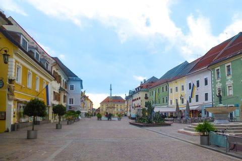 Stadtplatz in St. Veit