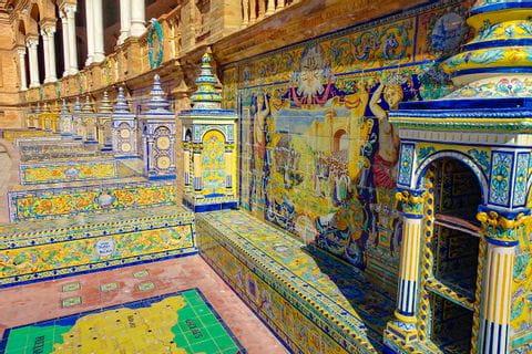 Mosaik in Sevilla
