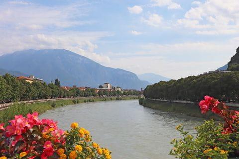 Impressionen der Landschaft in Trentino