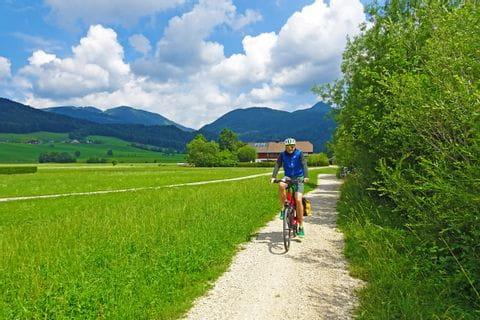 Joscha am Radweg am Russbach