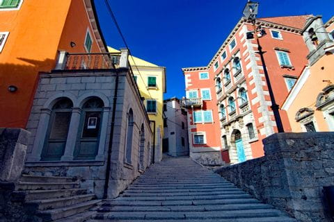The centre of Labin