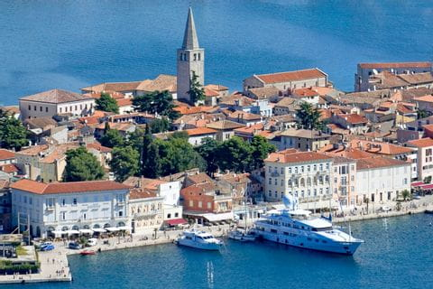 Poreč ans its historic centre