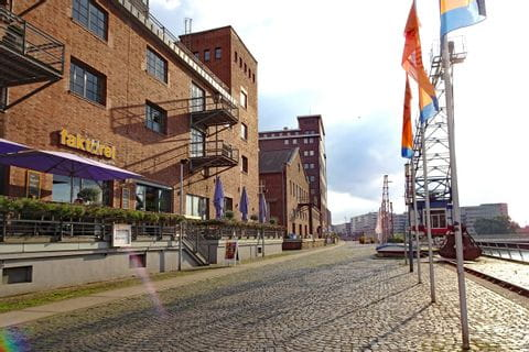 Speicherstadt in Duisburg