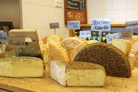In the Weizern mountain cheese dairy
