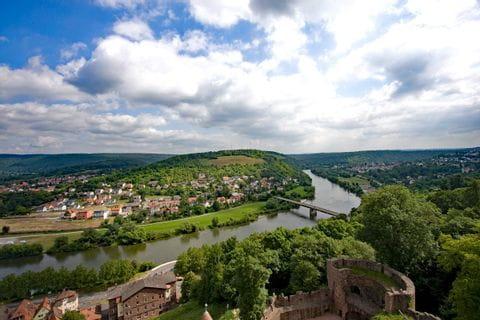 Blick auf den Main bei Bamberg