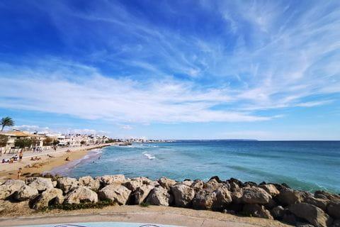 Strand in Palma