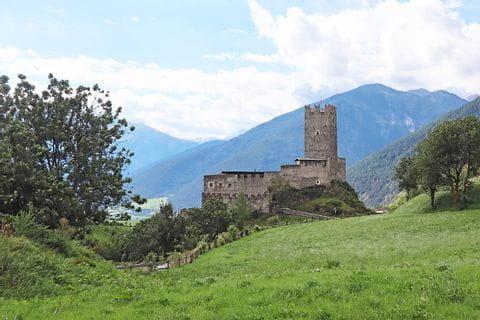 Blick auf Burg Fürstenburg
