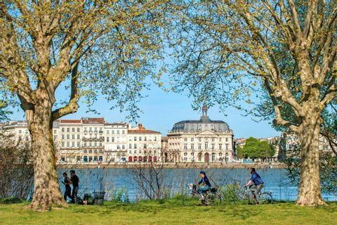 Fluss Garonne in Bordeaux