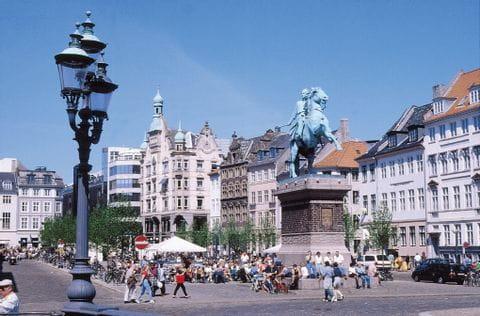 Hoibro Square in Copenhagen